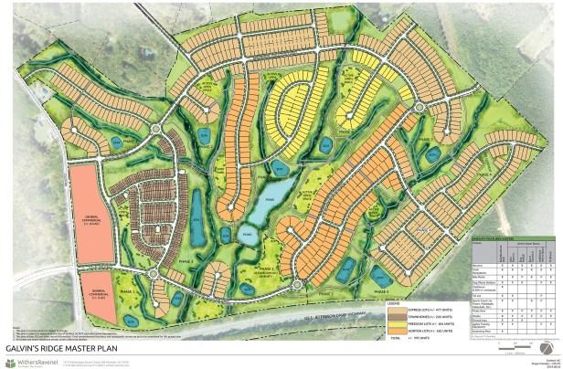 Galvin's Ridge Master Plan Rendering.indd