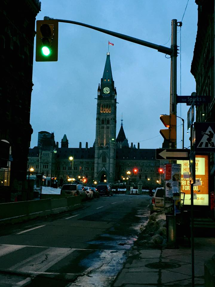 Peace Tower from Sparks