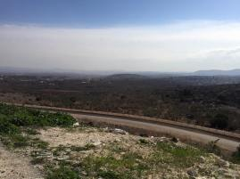 Looking out into the West Bank from Salam
