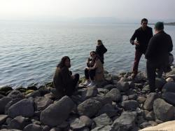 IYLP Participants at the Sea of Galilee