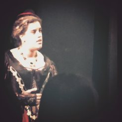 "as the Duchess of York in ""Richard III"""