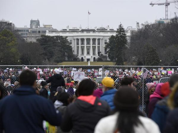 PHOTOS: The Women's March Took The Country — And The World — By Storm