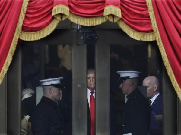 Russia, Like A Cloud, Hovers Over President Trump's Inauguration