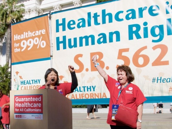 California's Single-Payer Proposal Could Be A Blueprint For The Nation. With A Few Caveats…