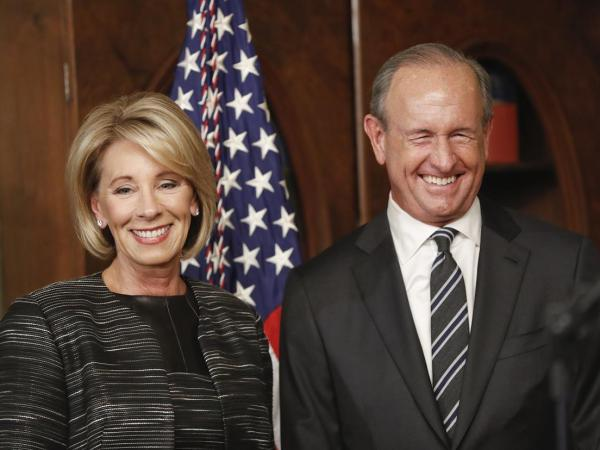 Betsy DeVos Continues Family Tradition Of Defrauding The Public
