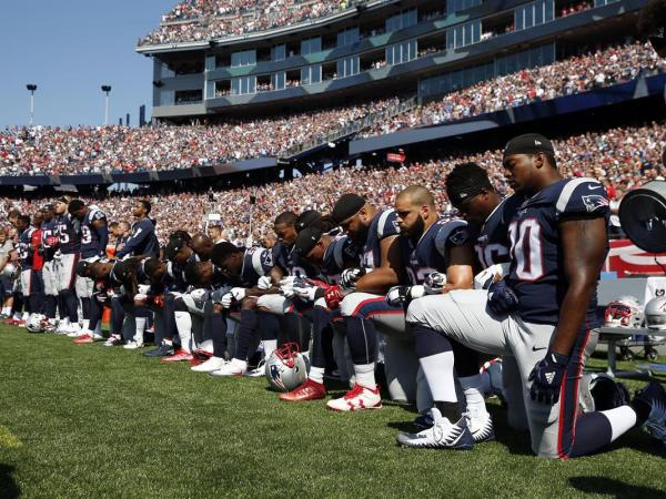 The NFL Kneels On The Right Side Of History