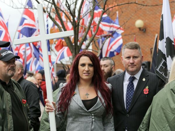 Far-Right Hate Group 'Britain First' (That Trump Retweeted) Joins Extremist-Friendly Gab
