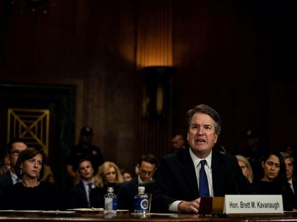 Kavanaugh Kills Senate Republicans' Last Shred Of Dignity