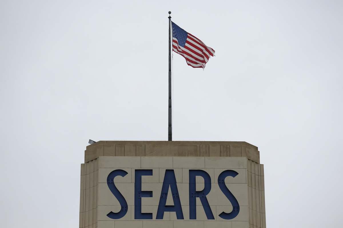 A Sears department is seen in Hackensack, N.J., Monday, Oct. 15, 2018. Sears filed for Chapter 11 bankruptcy protection Monday, buckling under its massive debt load and staggering losses. (AP Photo/Seth Wenig)