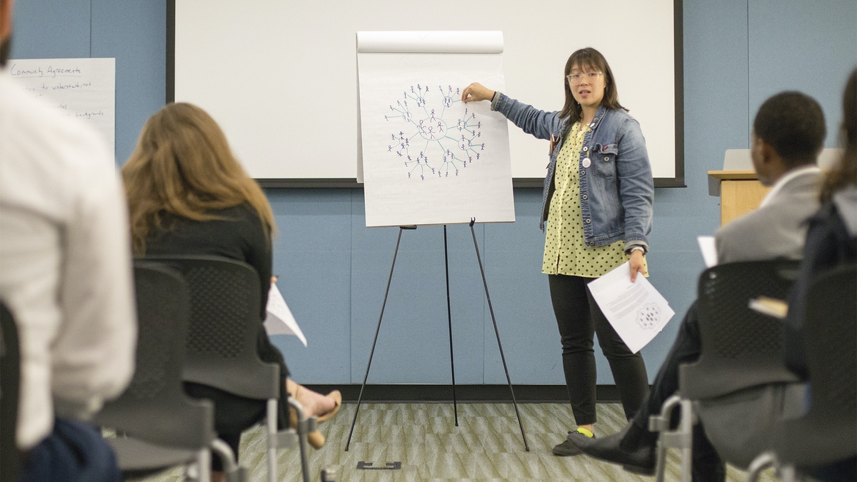 A Rising Organizers public training.