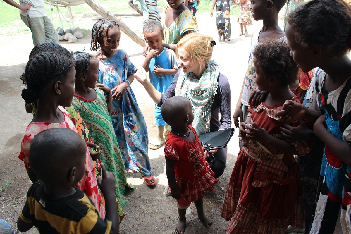 War Child Founder Dr. Samantha Nutt in South Sudan, 2011