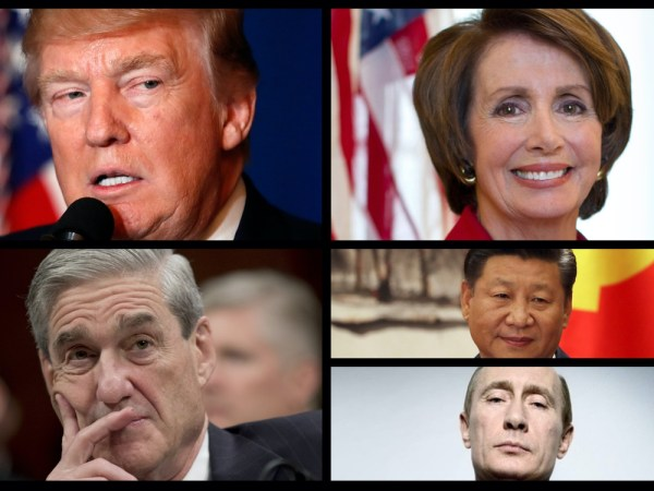 Predictions For 2019: Trump Falls, Democrats Rise, And Tensions With China Escalate