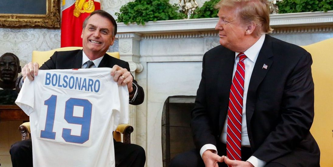 Trump Embraces Brazil's Bolsonaro—A Bigoted Far-Right Nationalist