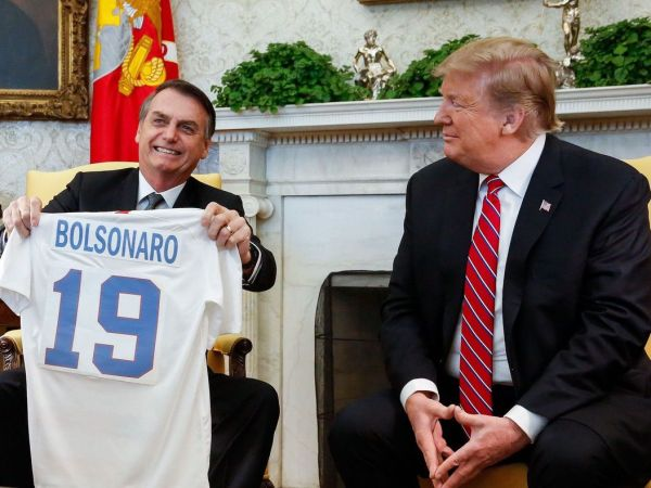 Trump Embraces Brazil's Bolsonaro—A Bigoted Far-Right Nationalist