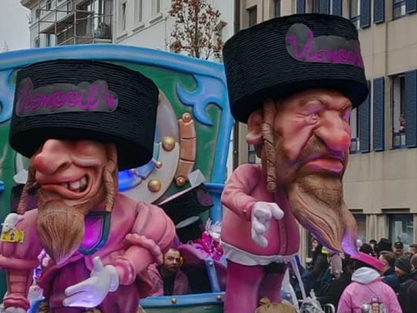 Carnival Float In Belgium Highlights Resurgence Of Anti-Semitism