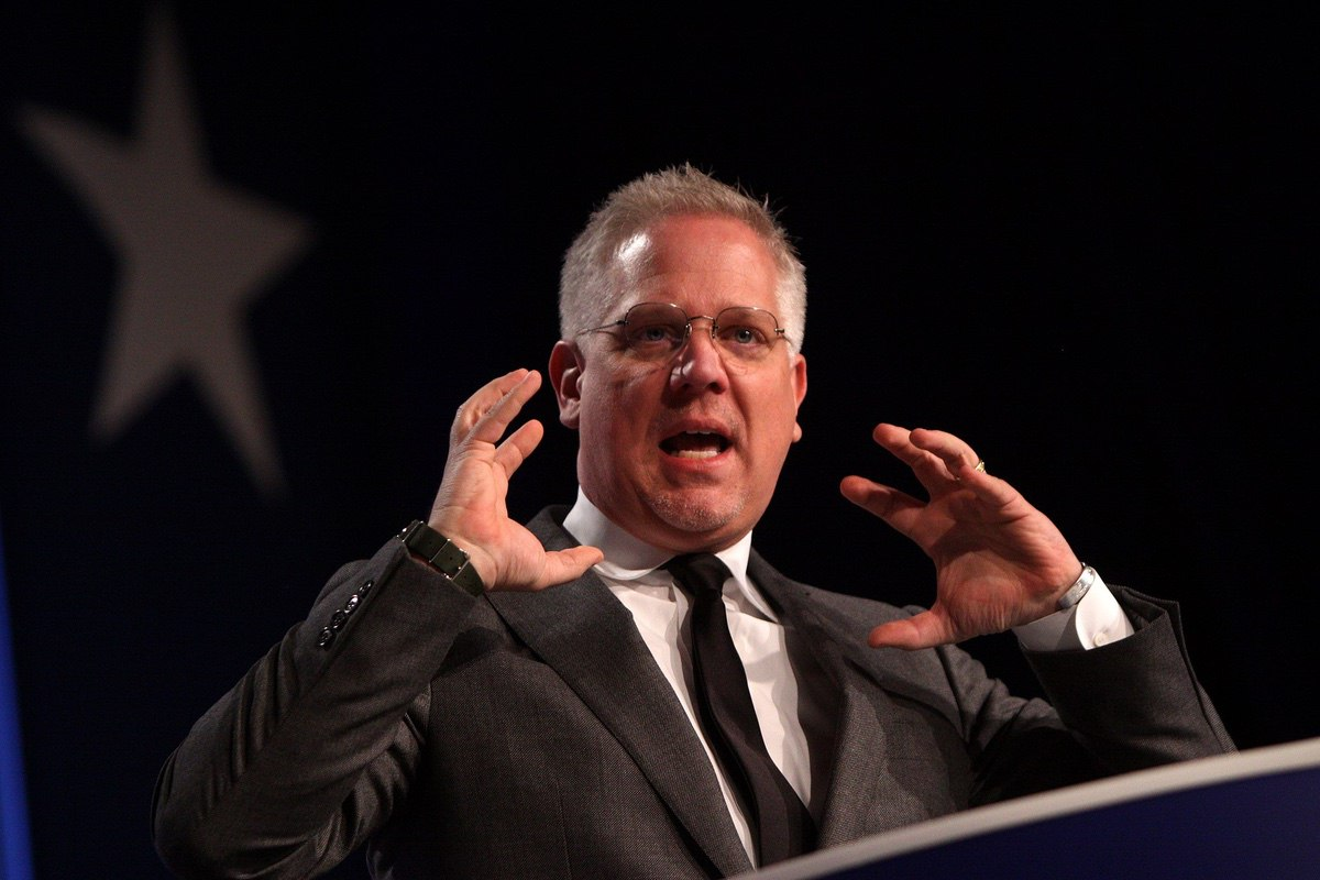 Glenn Beck speaking at the Values Voter Summit in Washington, DC – October 8, 2011 (Gage Skidmore/Flickr)