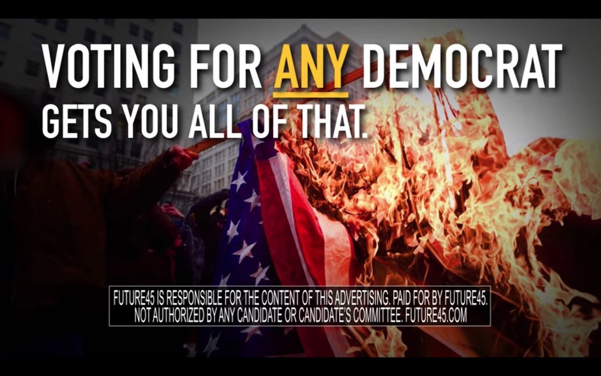 Pro-Trump Super PAC ad that fear mongers about socialism
