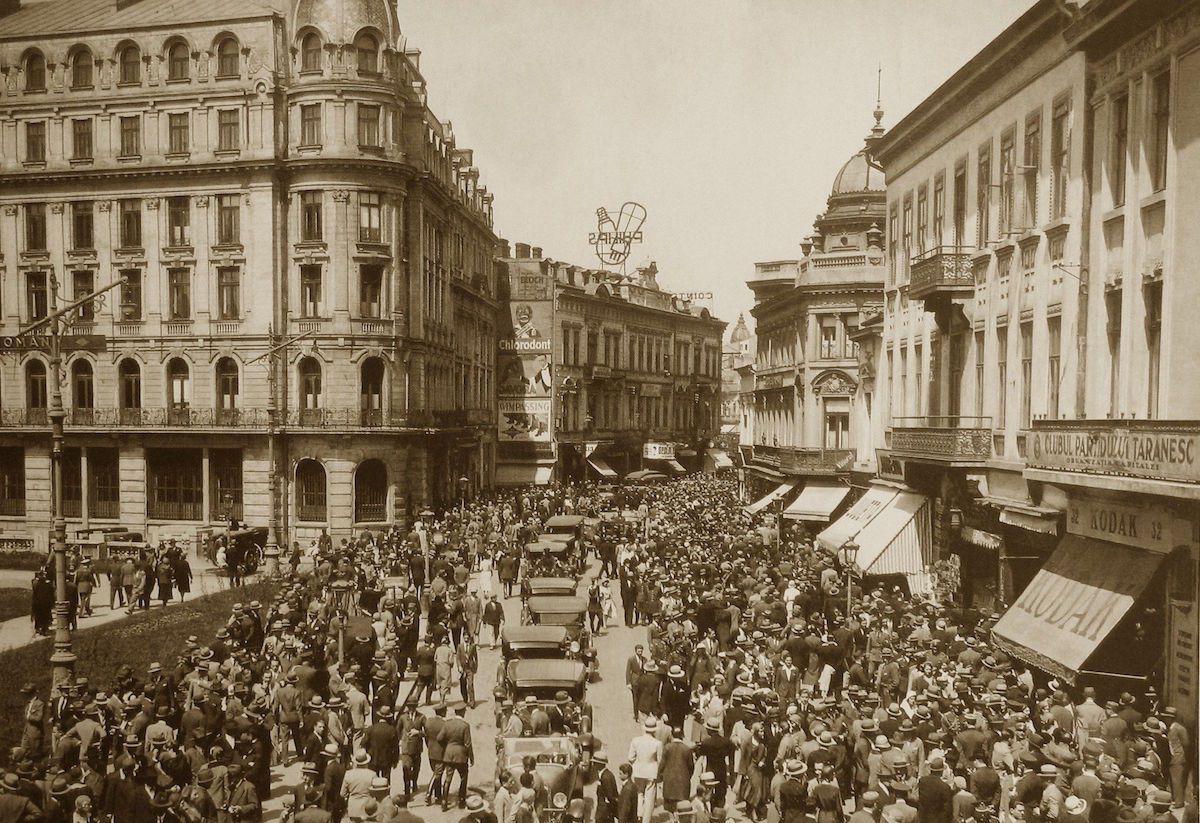 Early 1940s Romania.