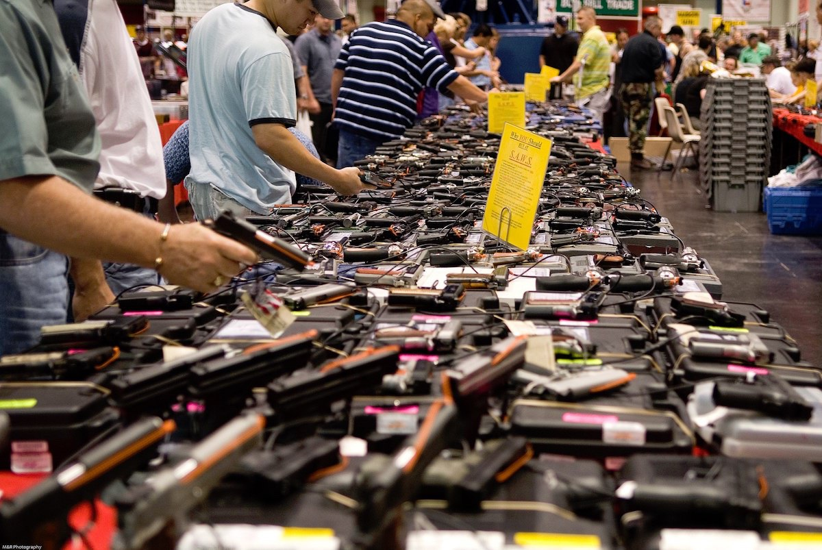 Houston Gun show at the George R. Brown Convention Center (M&R Photography)