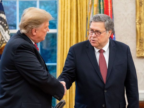 Barr Solidifies Place In History As Trump's Authoritarian Fixer