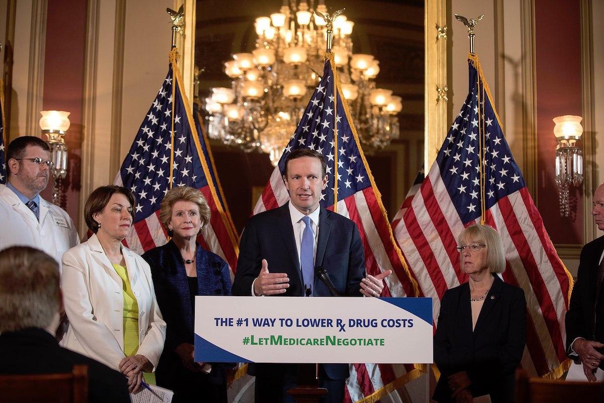 Senate Democrats' press conference on drug prices (June 12, 2019)