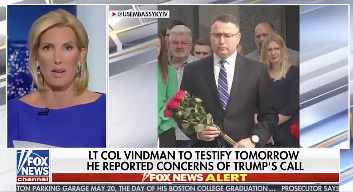 Fox News Anchor Laura Ingraham – October 28, 2019