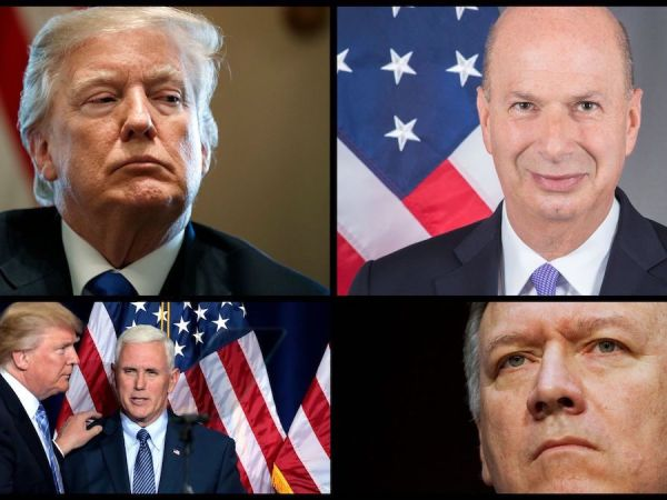 """Everyone Was In The Loop"": Sondland Implicates Trump, Pompeo, & Pence In Extortion Plot"