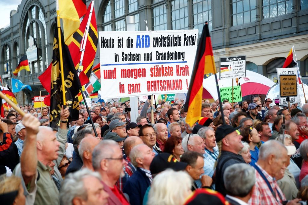 Today the AfD is the second strongest party in Saxony and Brandeburg and tomorrow the strongest power in the whole of Germany (Al Jazeera)