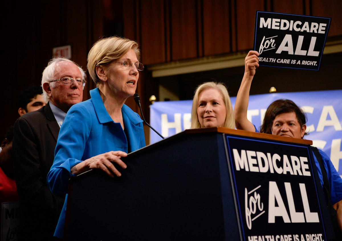 Senate Democrats introduce the Medicare For Any Act of 2017 – September 13, 2018