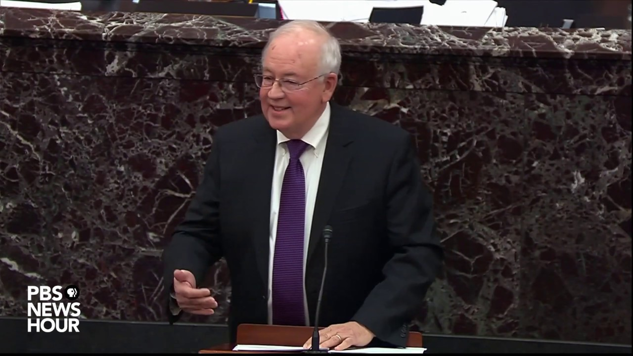Ken Starr at Trump's Senate Impeachment trial