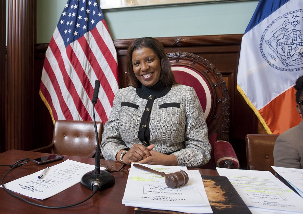 Letitia James (Photo: Official NYC Council/William Alatriste)