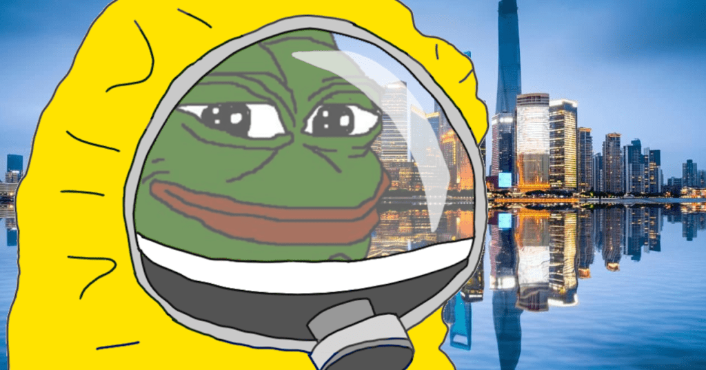 Radical right meme Pepe the Frog.