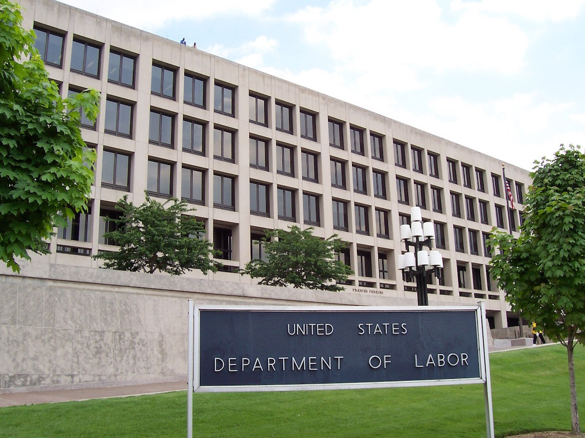 The Frances Perkins Building of the U.S. Department of Labor headquarters in Washington, D.C. (Ed Brown/Public domain)