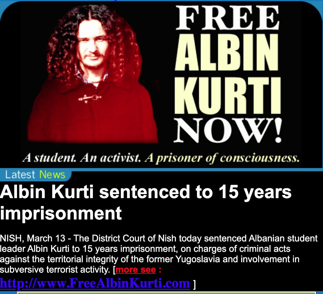 "Kurti was sentenced in March 2000. <a href=""http://www.bndlg.de/~wplarre/Suche-Kurti.htm"">Photo from 1990s</a>."