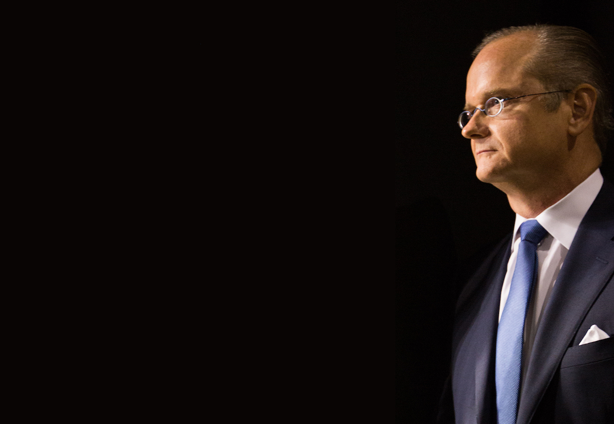 Professor Lawrence Lessig (LESSIG2016.US/Creative Commons)