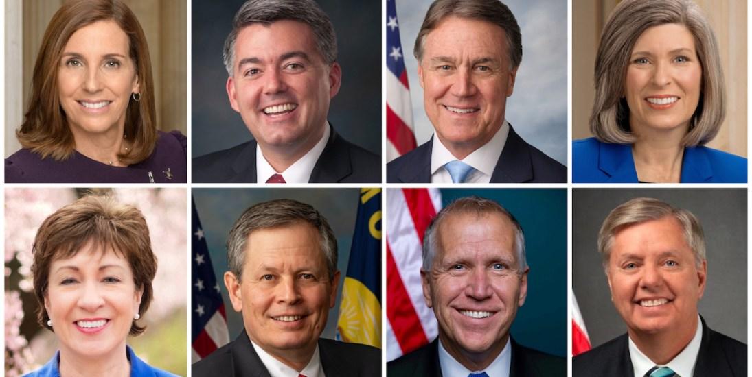How Vulnerable GOP Senators Are Reacting To Trump's Scandals