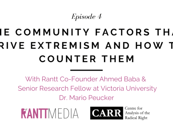 The Community Factors That Drive Extremism And How To Counter Them
