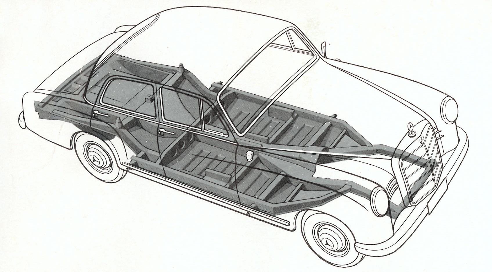 Mercedes Benz W120 Ponton 10