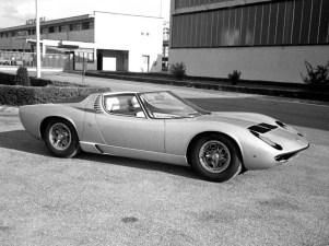 1968 Lamborghini Miura Roadster concept