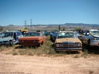 ranwhenparked-utah-junkyard-mercedes-w123-1