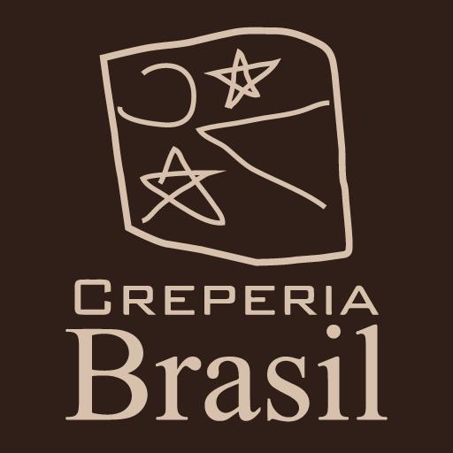 logo creperia brasil logotipo