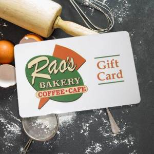 Rao's Bakery Gift Cards - Beaumont, Texas