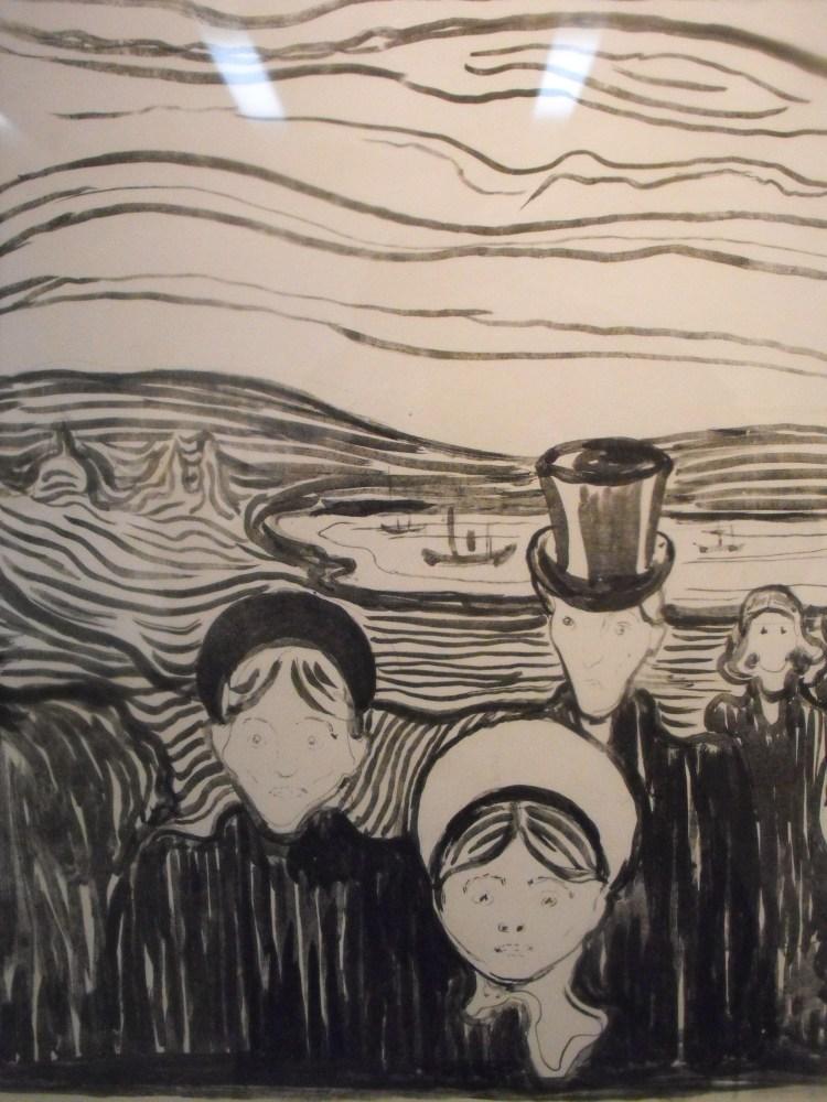 Edvard Munch, fósiles y la despedida.  (4/6)