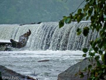 Bubbly waterfalls