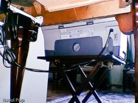 Printer cable management
