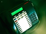 A business phone.