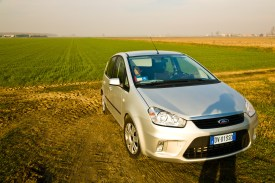 A Ford C-Max. On the road between Chioggia and Ravenna, Italy.