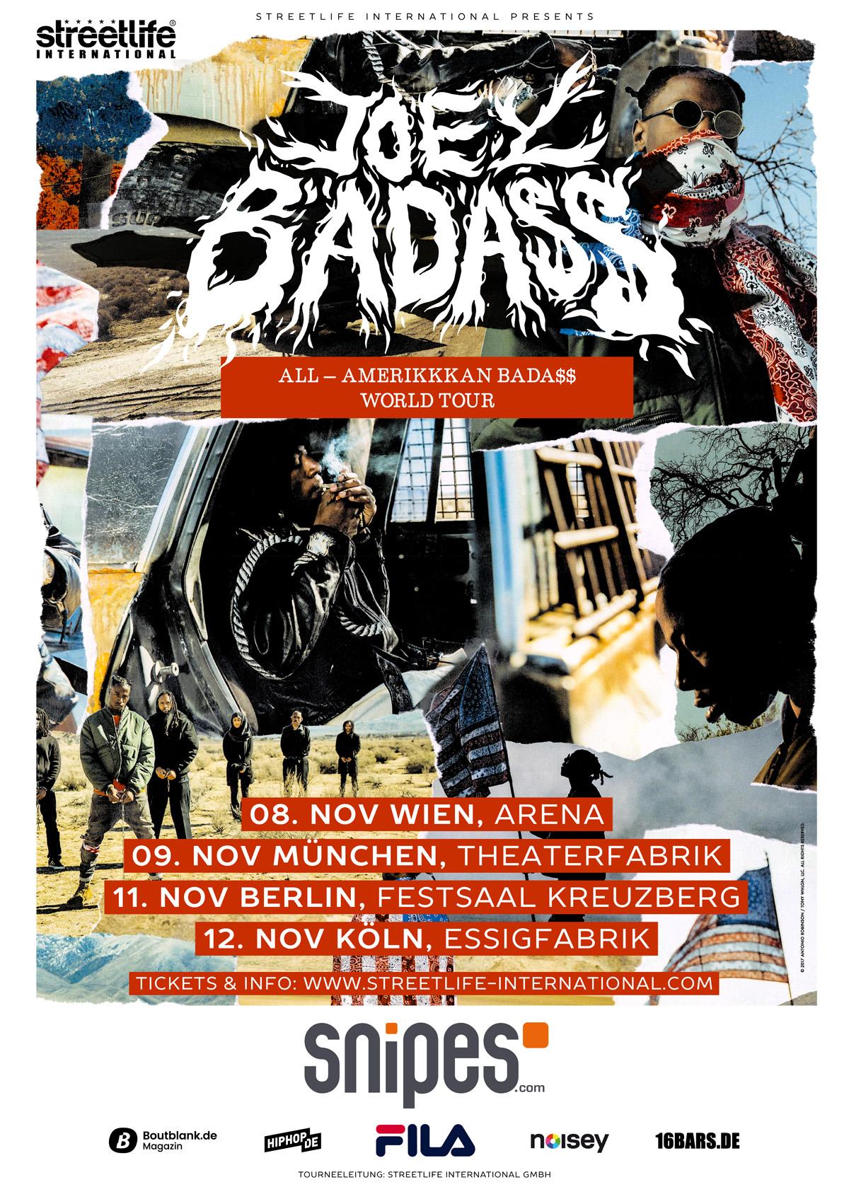 joey bada kommt im november nach deutschland rap de
