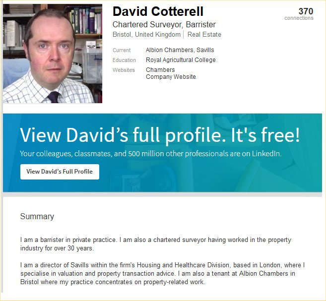 David Cotterell Liar Albion Chambers