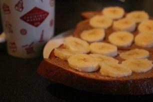 Protein Bread + Banana + Manteiga de Amendoim